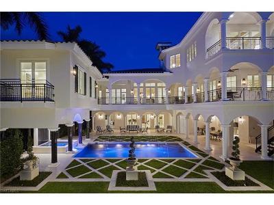 Olde Naples Single Family Home For Sale: 629 Gulf Shore Blvd N