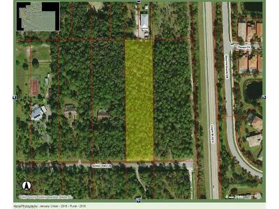 Naples Residential Lots & Land For Sale: Golden Oaks Ln