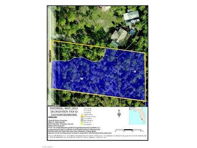 Bonita Springs Residential Lots & Land For Sale: 24299 Stillwell Pky
