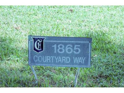 Condo/Townhouse Sold: 1865 Courtyard Way #F-105