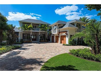 Naples FL Single Family Home For Sale: $11,900,000