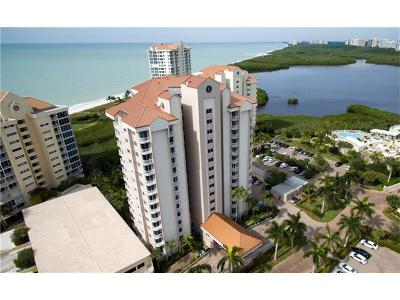 Club At Naples Cay Condo/Townhouse Sold: 40 Seagate Dr #704-A