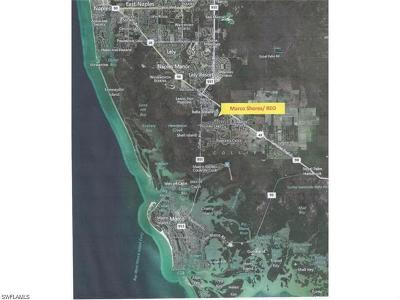 Naples Residential Lots & Land For Sale: Manatee Rd