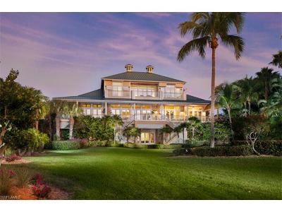 Bonita Springs Single Family Home For Sale: 201 Barefoot Beach Blvd