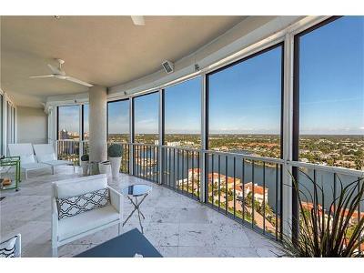Condo/Townhouse Sold: 3971 Gulf Shore Blvd N #PH-305