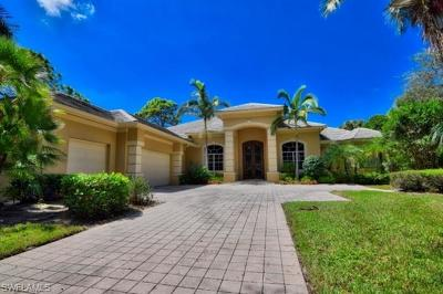 Naples Single Family Home For Sale: 12446 Colliers Reserve Dr