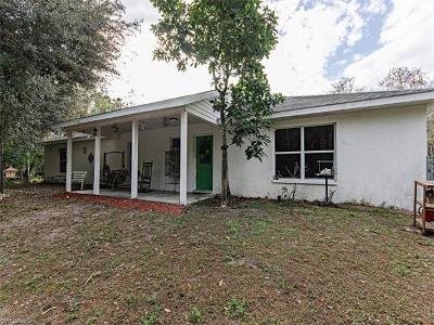 Golden Gate Estates Single Family Home For Sale: 2581 2nd St NE