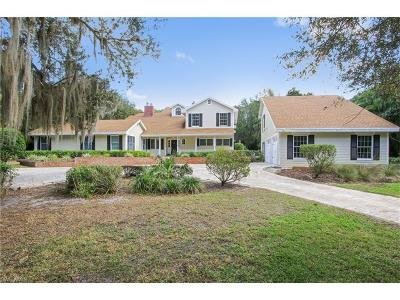 Single Family Home For Sale: 400 Cocohatchee Blvd