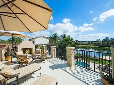 Naples Single Family Home For Sale: 16618 Cortona Ln