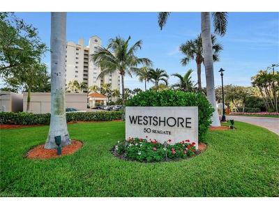 Westshore At Naples Cay Condo/Townhouse Sold: 50 Seagate Drive Dr #703B