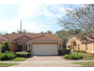 Naples Condo/Townhouse Pending With Contingencies: 15049 Toscana Way