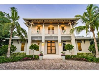 Naples FL Single Family Home For Sale: $3,595,000