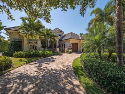 Naples, Bonita Springs Single Family Home For Sale: 750 Riviera Dr