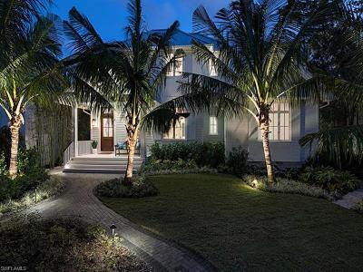 Olde Naples Single Family Home For Sale: 450 13th Ave S