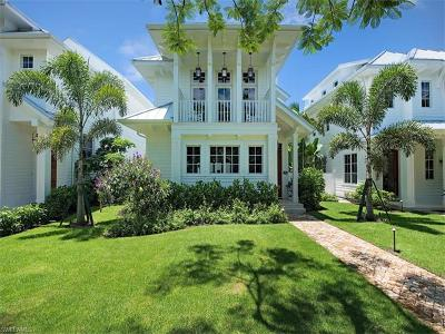 Olde Naples Single Family Home For Sale: 450 6th St S