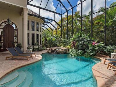 Naples Single Family Home For Sale: 14902 Bellezza Ln