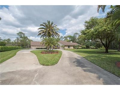 Naples Single Family Home For Sale: 6781 Bottlebrush Ln