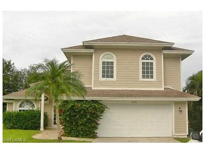 Naples Single Family Home For Sale: 4051 Sawgrass Ln