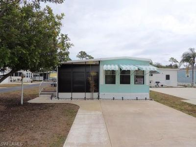 Bonita Springs Mobile/Manufactured Pending With Contingencies: 3272 Locher Ln