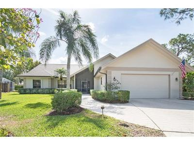 Naples Single Family Home For Sale: 3036 Round Table Ln