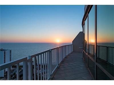 Condo/Townhouse Sold: 3971 Gulf Shore Blvd N #PH 201