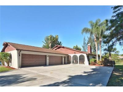 Estero Single Family Home For Sale: 20560 Park Pl