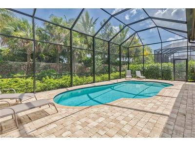 Naples Single Family Home For Sale: 7327 Lantana Cir