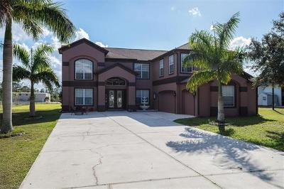 North Fort Myers Single Family Home For Sale: 2950 Trail Dairy Cir