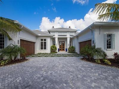 Naples FL Single Family Home For Sale: $3,495,000