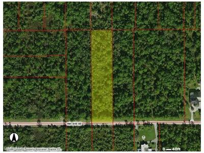 Naples Residential Lots & Land For Sale: 18th Ave SE