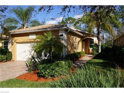 Naples Single Family Home For Sale: 15377 Cortona Way