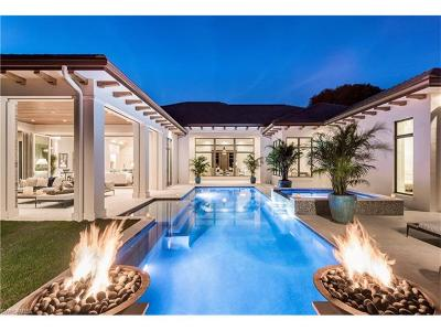 Naples FL Single Family Home For Sale: $5,595,000