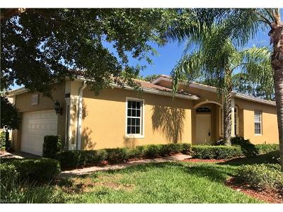 Naples Single Family Home Pending With Contingencies: 15277 Cortona Way