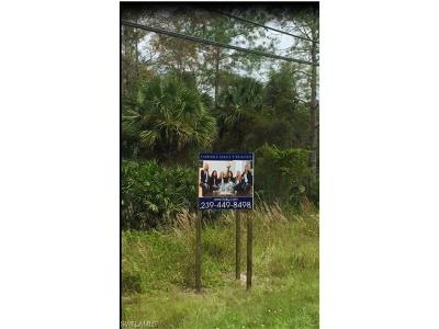 Collier County Residential Lots & Land For Sale: Golden Gate Blvd E