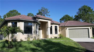 Naples Single Family Home For Sale: 475 11th St SW