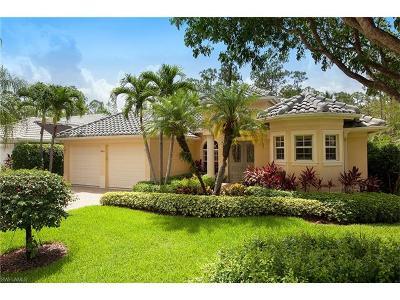Naples Single Family Home For Sale: 2854 Lone Pine Ln