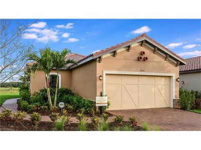 Naples Single Family Home For Sale: 8308 Lucello Ter