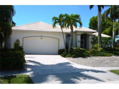 Marco Island Single Family Home For Sale: 1849 Woodbine Ct S
