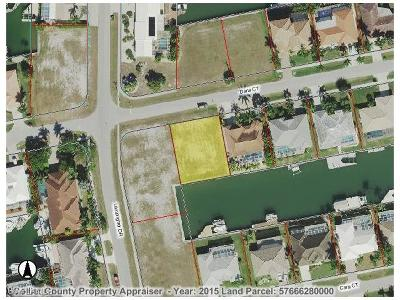 Marco Island Residential Lots & Land For Sale: 1071 Dana Ct