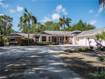 Naples Single Family Home For Sale: 6000 Sea Grass Ln N