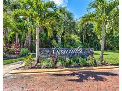 Naples Condo/Townhouse For Sale: 2100 Cascades Dr #4910