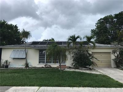 Marco Island Single Family Home Pending With Contingencies: 1238 Skylark Ave