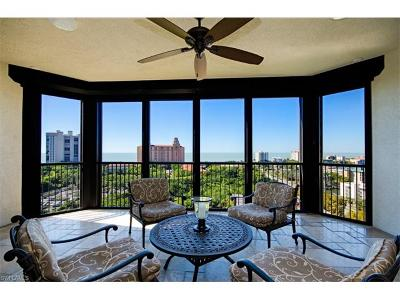 Naples Condo/Townhouse For Sale: 8787 Bay Colony Dr #1105