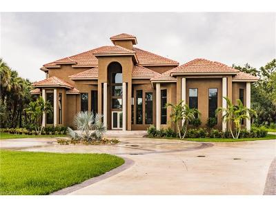 Naples FL Single Family Home For Sale: $2,195,900