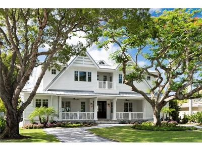 Olde Naples Single Family Home For Sale: 464 9th Ave S