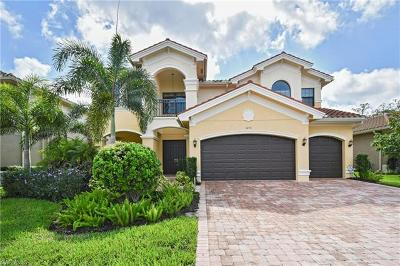 Naples Single Family Home For Sale: 3272 Atlantic Cir