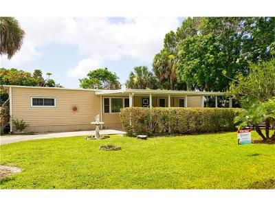 Goodland, Marco Island, Naples, Fort Myers, Lee Mobile/Manufactured For Sale: 201 Riverwood Rd