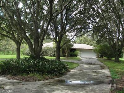 Fort Myers Single Family Home For Sale: 4500 Buckingham Rd