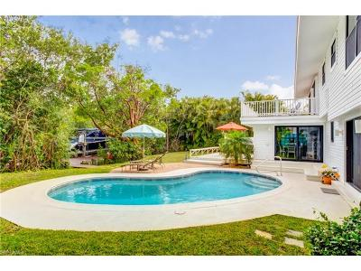 Sanibel Single Family Home Pending With Contingencies: 931 S Yachtsman Dr
