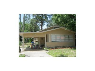 Fort Myers Single Family Home For Sale: 2242 South St